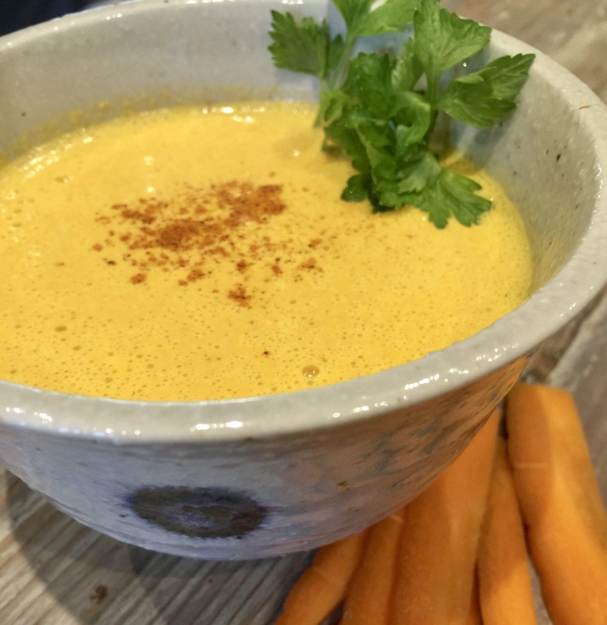 In cucina- Crema di carote