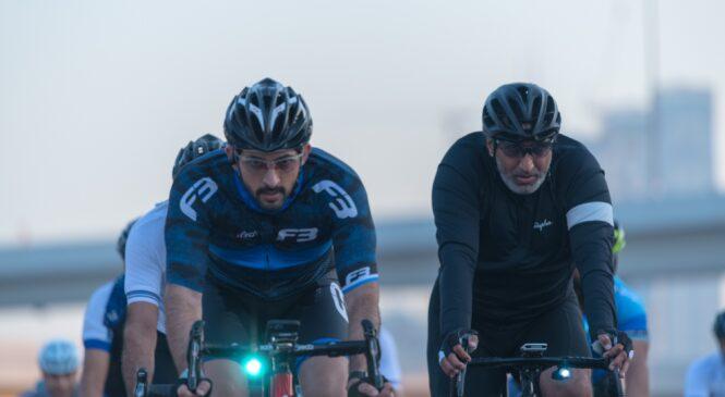 Dubai Ride 2020- Oltre 20.000 ciclisti pedalano lungo la Sheikh Zayed Road