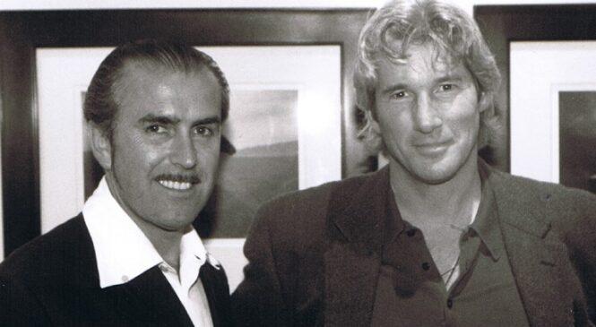 Alviero Martini e Richard Gere- Una grande amicizia oltre oceano!