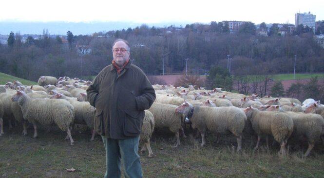 """Edoardo Raspelli-"""" Melaverde"""" a Ginevra tra gli allevamenti di pecore"""