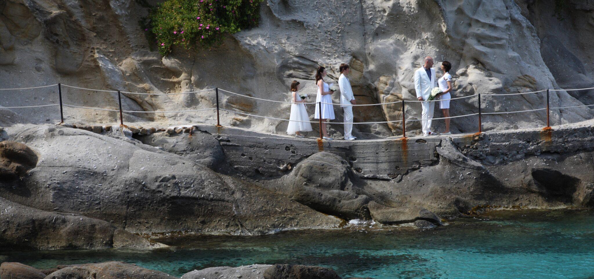 Il destination wedding gioca in casa- Capo Sant'Andrea come ai Caraibi