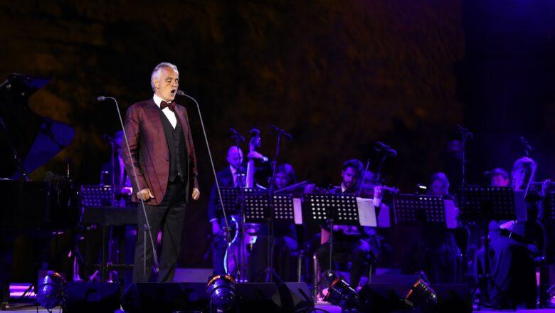 Andrea Bocelli- In concerto nell'incantevole cornice di Hegra