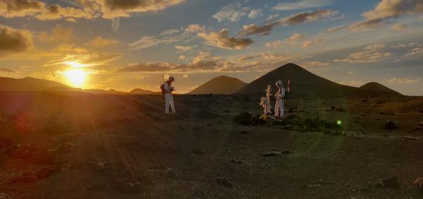 CS_Isole Canarie- Timanfaya contribuisce alla ricerca della vita su Marte