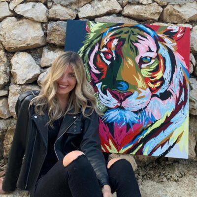 Olga Lushnikova- Nei miei dipinti catturo le anime più selvagge