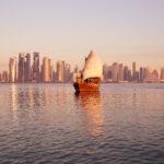 Lo Skyline di Doha, la capitale del Qatar in continua evoluzione
