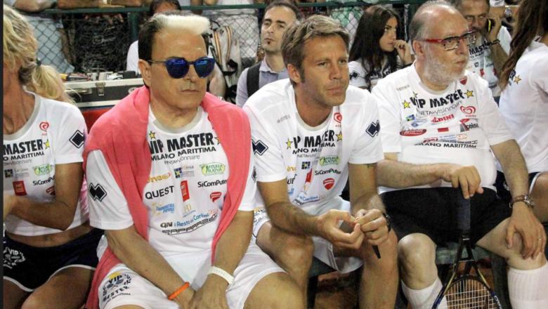Edoardo Raspelli- A Milano Marittina il Vip Master di tennis