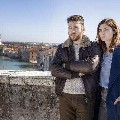 """Rai- """"Non mi lasciare"""" Vittoria Puccini, Alessandro Roia e il regista Ciro Visco"""